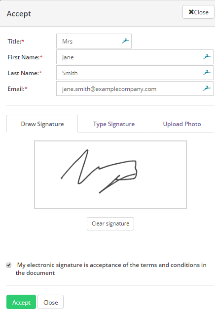 DocumentSign